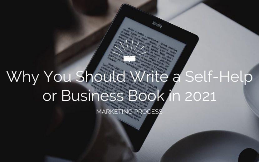write self help business book 2021