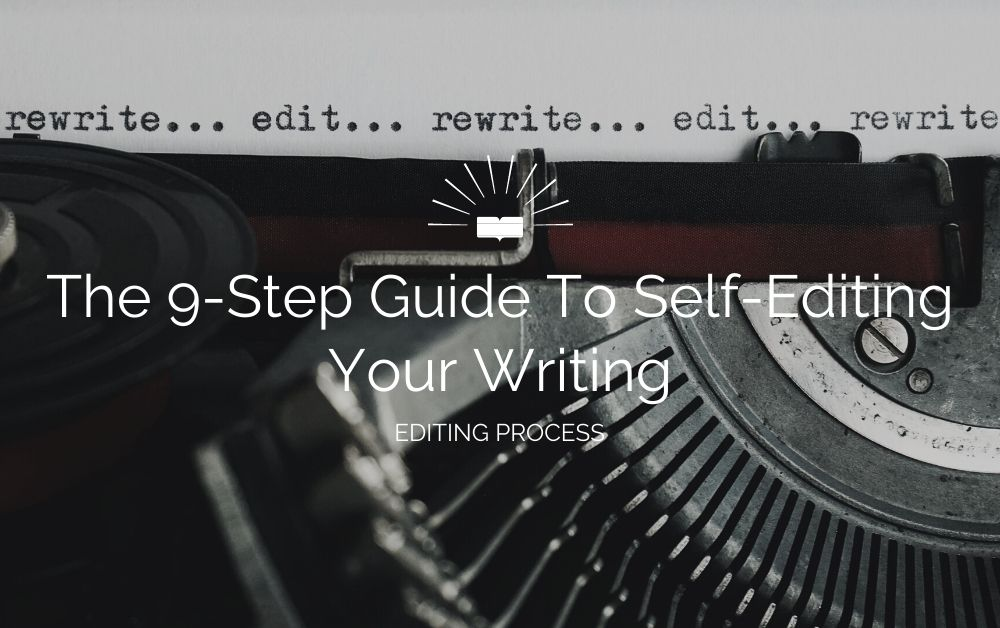 guide to self-editing